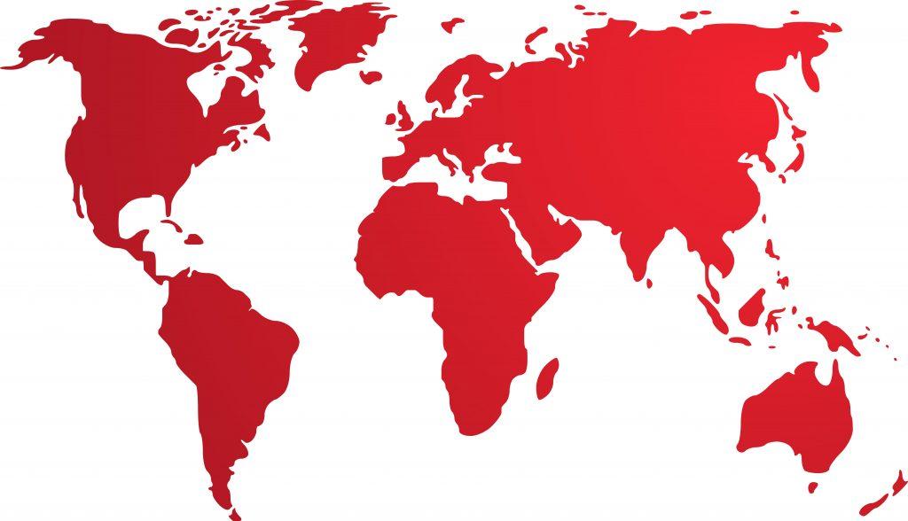 Export world map